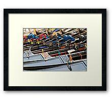 Gondola Prime Framed Print