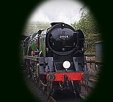 Steam Engine-iphone Case by naturelover