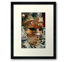 The Royal Mask Framed Print