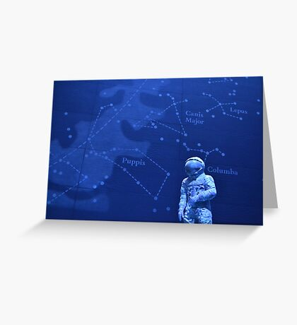 Spaceman - Natural History Museum Greeting Card
