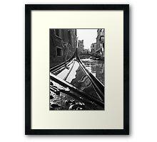 Venice Glide Framed Print