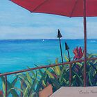 On the Deck by Coralie Newman by TwoBaysArtGroup