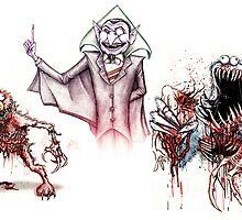 Horror Muppets by Austen Mengler