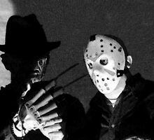 Freddy and Jason by John Gaffen