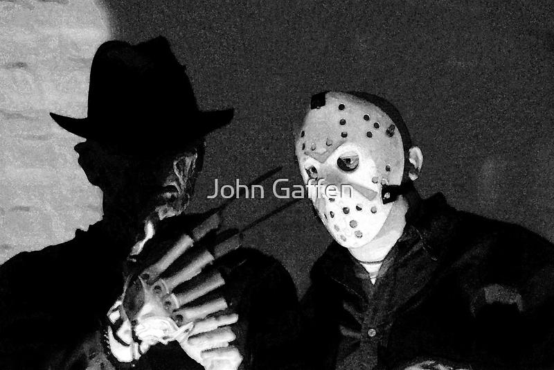 Freddy and Jason by John Gaffen