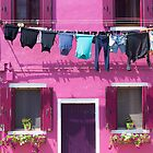 Burano Purple House by Adrian Alford Photography