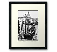 Romance Gondola Framed Print