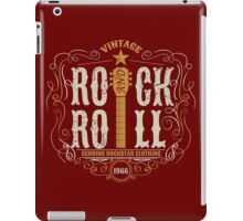 Vintage Rock and Roll iPad Case/Skin