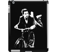 You can't fly a bike, Tony. iPad Case/Skin