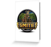 Smite Sylvanus Logo Greeting Card