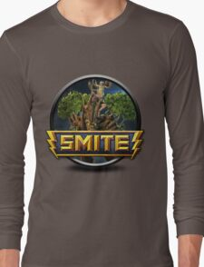 Smite Sylvanus Logo Long Sleeve T-Shirt