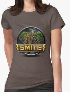 Smite Sylvanus Logo Womens Fitted T-Shirt