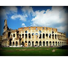 The Colosseum in Rome Photographic Print