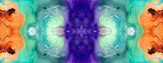 Awakening Spirit - Pattern Art By Sharon Cummings by Sharon Cummings