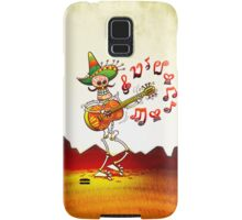 Mexican Skeleton Playing Guitar Samsung Galaxy Case/Skin
