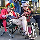 Spectators on the Fringe by Mikell Herrick