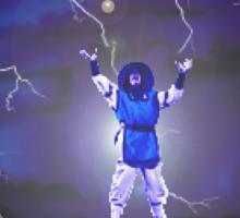 Raiden the lightning Sticker