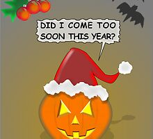 Halloween And Christmas by Almdrs