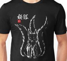 Demon Fox Keaton White Unisex T-Shirt
