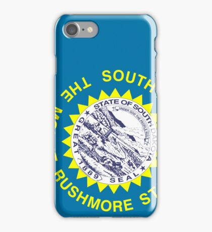 Smartphone Case - State Flag of South Dakota V iPhone Case/Skin