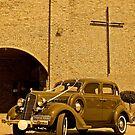 1935 Plymouth Deluxe Sedan  by Lebogang Manganye