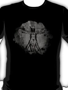 Vitruvian Man - Leonardo Da Vinci Tribute Art T Shirt T-Shirt