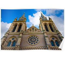 St. Pauls Cathedral Adelaide South Australia. Poster