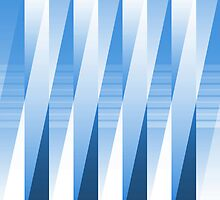 Layered Blue Tones by Ra12