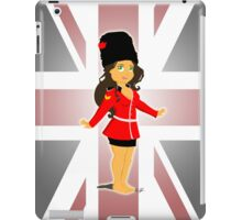 KC Soldier on Guard iPad Case/Skin