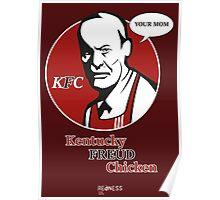 Kentucky FREUD Chicken Poster