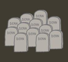 Dean Winchester Graveyard T-Shirt by FinalFee