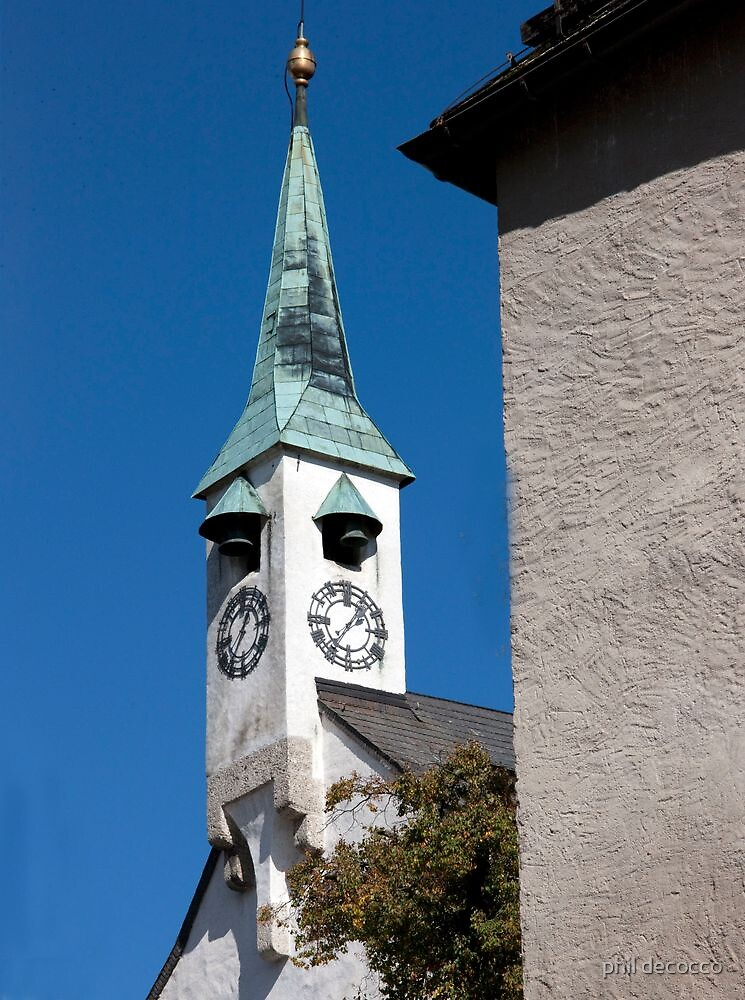 Steeple Clock by phil decocco