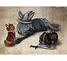 The Hobbit Bunnies Photographic Print