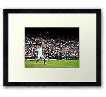 Andy Murray @ Wimbledon Framed Print