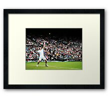 Andy Murray @ Wimbledon Framed Print