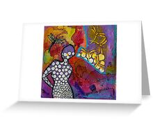 Growing in Grace Greeting Card