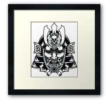 Japanese Samurai Framed Print