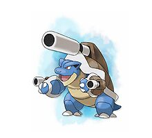 Blastoise by warriorhel3