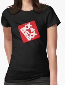Dick in a Box Retro Womens Fitted T-Shirt