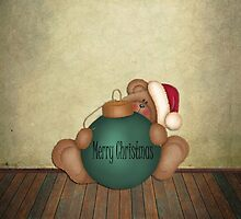 Beary Merry Christmas ~ Phone Case by Penny Odom