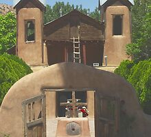 Church Famous For Healing in New Mexico by David DeWitt