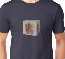 A Cube of Flowers Unisex T-Shirt