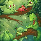 Grass starters by warriorhel3