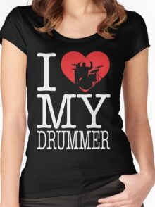 I love my drummer Women's Fitted Scoop T-Shirt