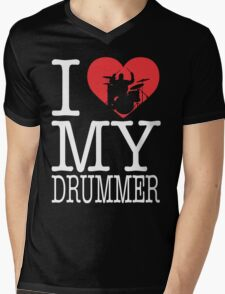 I love my drummer Mens V-Neck T-Shirt