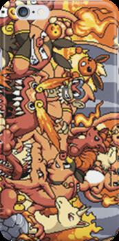 Fire Pokemon by warriorhel3