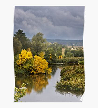 First Touch of Autumn Poster
