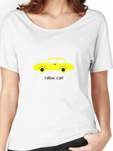 Yellow Car (01) Women's Relaxed Fit T-Shirt