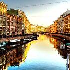 St Petersburg by GarfunkelArt