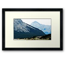Banff Mountains Framed Print